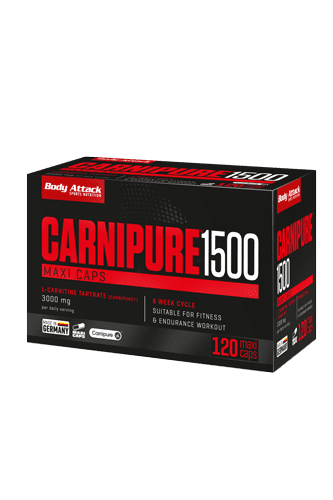 Body Attack Carnipure 1500 - 120 Maxi Caps