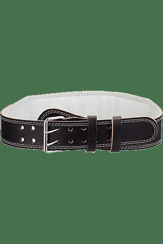 Chiba Fitnessgürtel Nappa-Leder schwarz