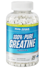 Body Attack 100% Pure Creatine - 240 Caps