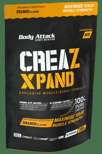 Body Attack CREAZ XPAND Creatine-Booster - 300g Restposten