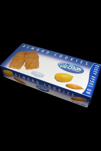 de Bron Low Carb Almond Cookies 125g