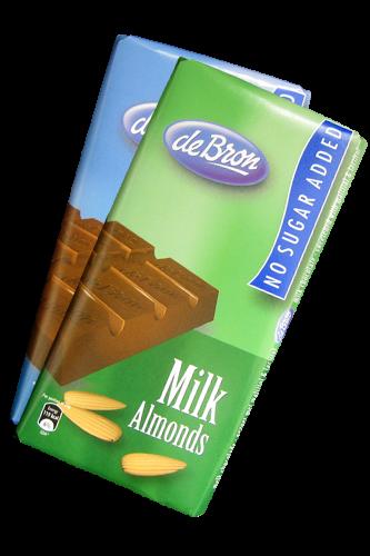 de Bron Low Carb Schokolade 75g