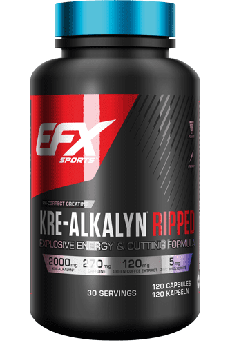 EFX Kre-Alkalyn Ripped - 120 Caps