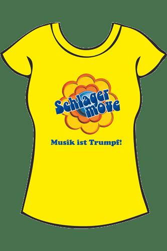 Elbmeister Schlagermove-Shirt - Girlie gelb