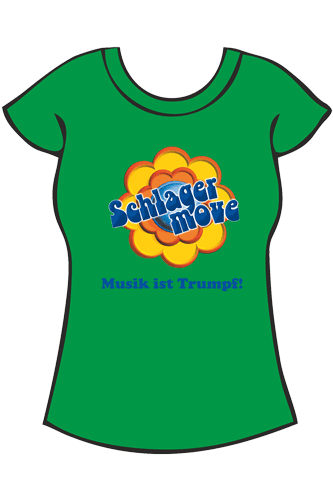 Elbmeister Schlagermove-Shirt - Girlie grün