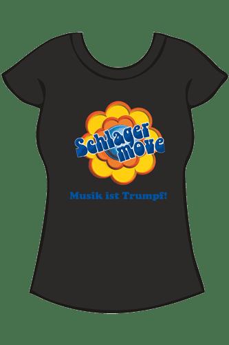 Elbmeister Schlagermove-Shirt - Girlie schwarz