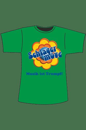 Elbmeister Schlagermove-Shirt - grün