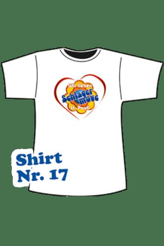 Elbmeister Schlagermove-Shirt - Herren St.Pauli weiß