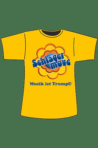 Elbmeister Schlagermove-Shirt - orange-gelb