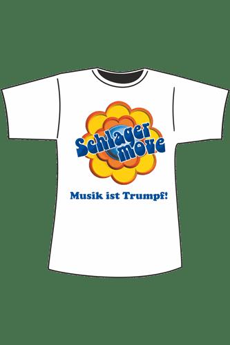 Elbmeister Schlagermove-Shirt - weiß