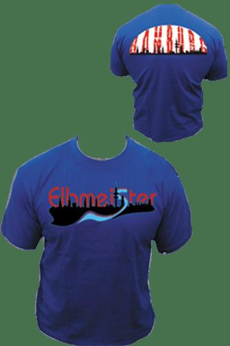 Elbmeister T-Shirt - Schiff blau