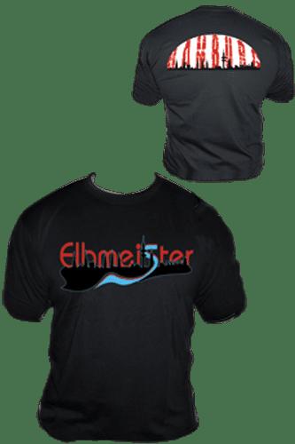 Elbmeister T-Shirt - Schiff schwarz