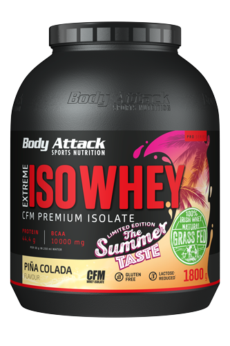 Body Attack Extreme ISO Whey - 1,8kg Summer Edition