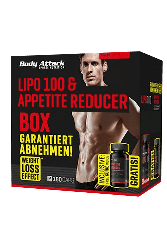 Body Attack LIPO 100 Fatburner Box - MEN