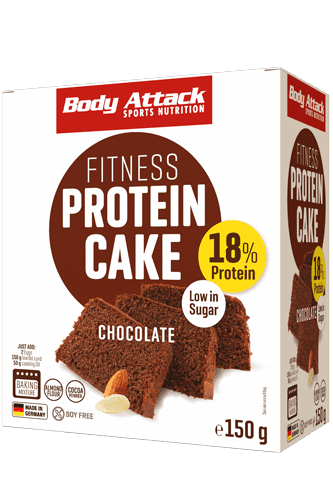 Body Attack Fitness Protein Cake - 150g