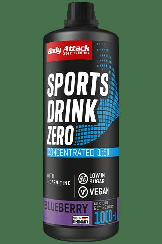 Body Attack Zero Sports Drink - 1000ml