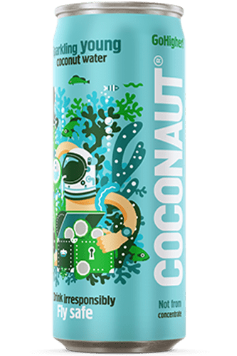 Coconaut Go Higher Sparkling Young Coconut Water - 320ml