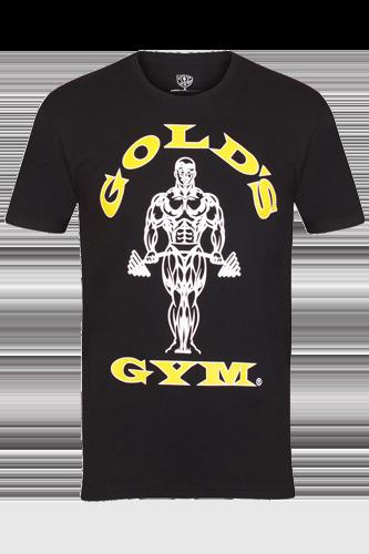 Gold´s Gym T-Shirt Muscle Joe Black Restposten