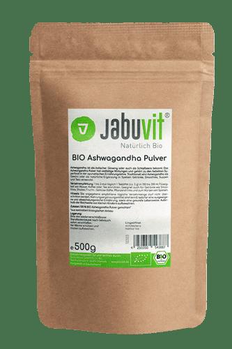 JabuVit Bio Ashwaganda - 500g