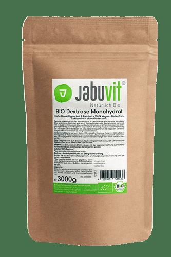JabuVit Bio Dextrose Monohydrat - 3000g