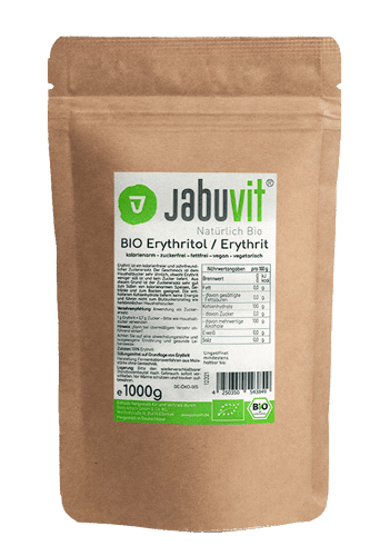 JabuVit Bio Erythritol - 1000g