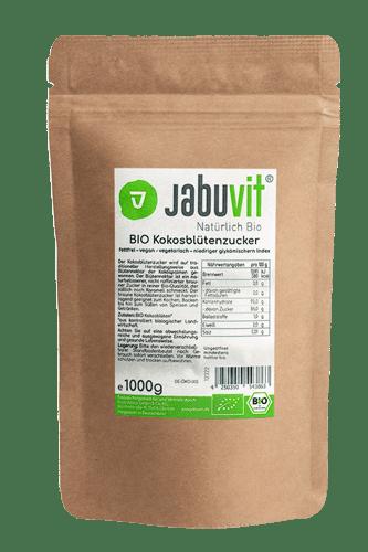 JabuVit Bio Kokosblütenzucker - 1000g