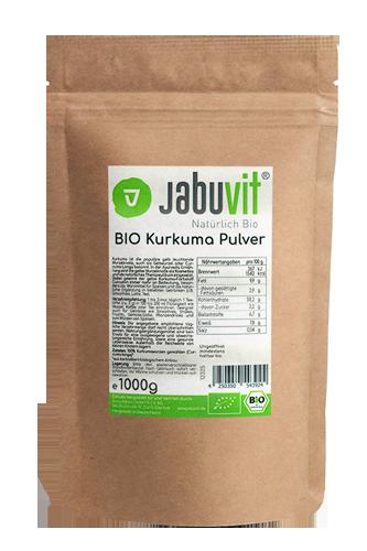 JabuVit Bio Kurkuma - 1000g