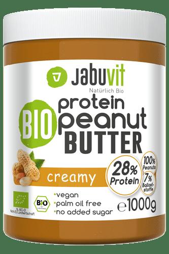 JabuVit Bio Protein Peanut Butter - 1000g
