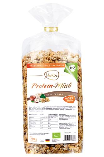 JabuVit Bio Protein-Müsli Nuss-Crunch 500g