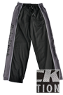 Body Attack Sports Nutrition Meshpants schwarz-grau