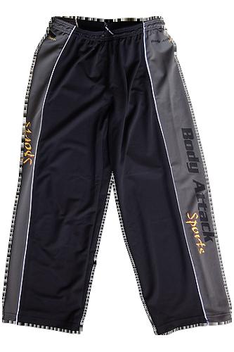 Body Attack Mesh Training Pant schwarz-grau