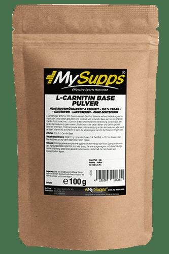 My Supps L-Carnitin Base - 100g