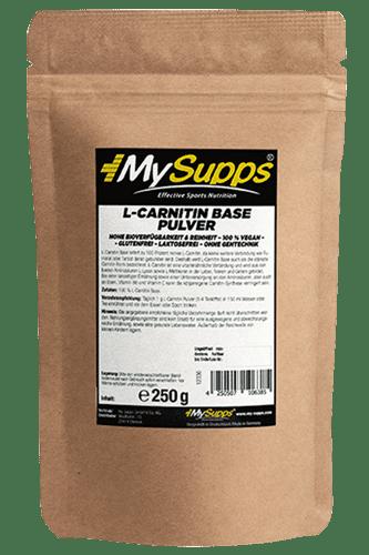 My Supps L-Carnitin Base - 250g