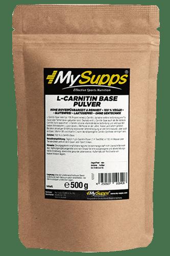 My Supps L-Carnitin Base - 500g