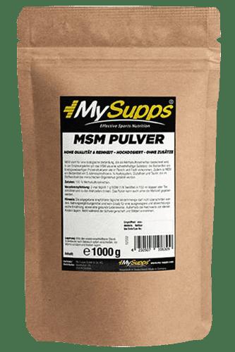 My Supps MSM - 1000g