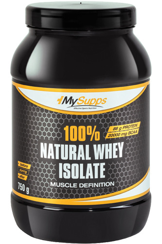My Supps 100% Natural Whey Isolate 100% CFM - 750g