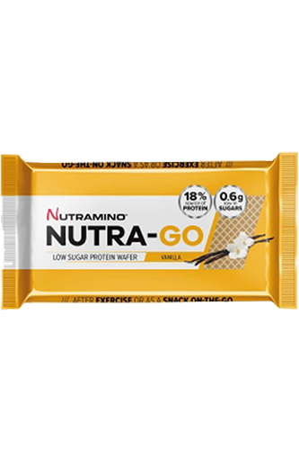 Nutramino Nutra-Go Protein Wafer Vanilla - 39g Restposten
