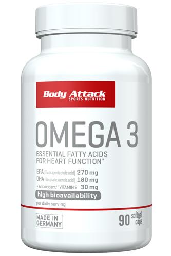 Body Attack Omega-3 - 90 caps