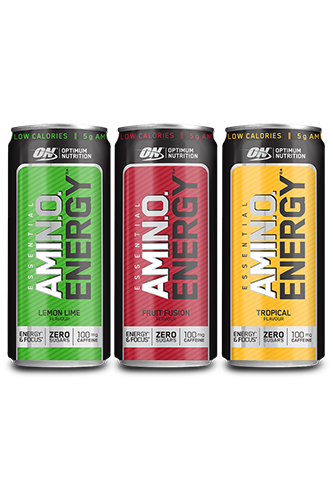 Optimum Nutrition Amino Energy Drink - 330ml Restposten