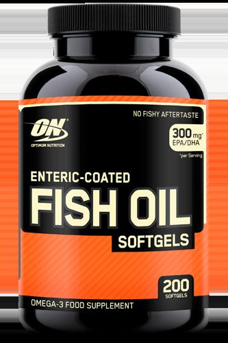 Optimum Nutrition Fish Oil Softgels - 200 Caps Restposten