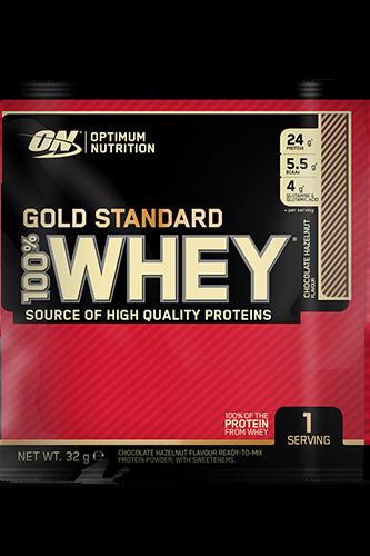 Optimum Nutrition 100% Whey Gold Standard Chocolate Hazelnut - 768g 24er Pack