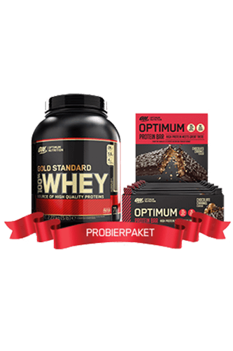 Optimum Nutrition 100% Whey Gold Standard - 2270g + 10 x 60g Optimum Protein Bar