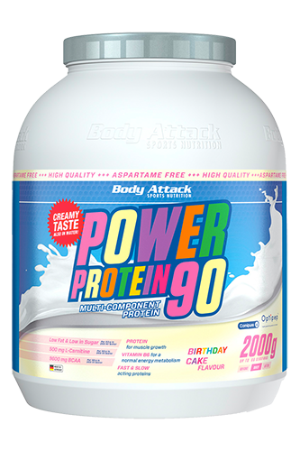 Power Protein 90 Birthday Cake - 2kg Restposten