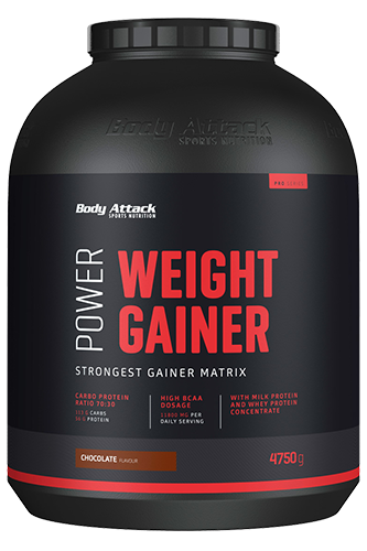 Body Attack Power Weight Gainer - 4,75 kg Restposten