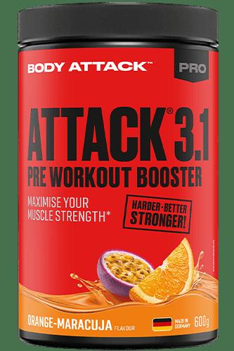 Body Attack PRE ATTACK 3.1 - 600g