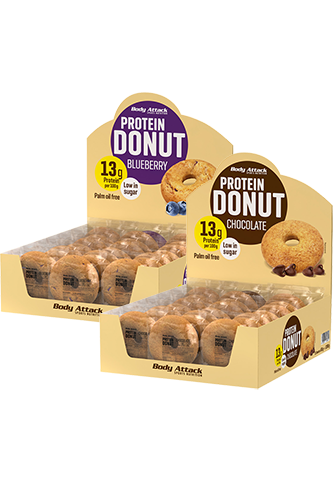 Body Attack Protein Donut Blueberry - 60g Restposten