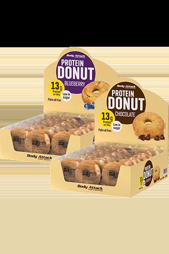 Body Attack Protein Donut natural - 60g Restposten
