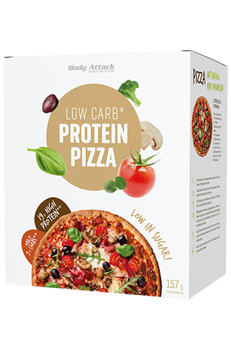 Body Attack Low-Carb*-Protein-Pizza - 157g
