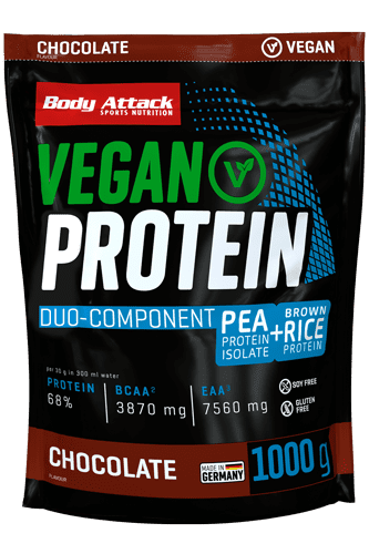 Body Attack Vegan Protein - 1 kg