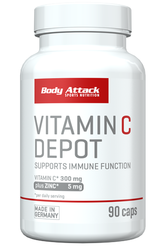 Body Attack Vitamin C Depot - 90 Caps